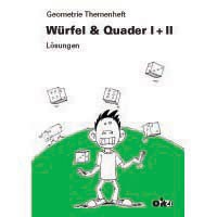 Gm705 - Geometrie Themenheft «Würfel & Quader I+II» Lösungen