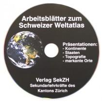 """CD602 - Gruppenarbeit Geografie """"Arbeitsblätter zum Schweizer Weltatlas"""""""