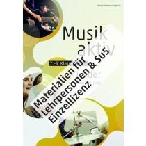 «Musik aktiv» Materialien für LP und SuS zum Liederbuch - Einzellizenz